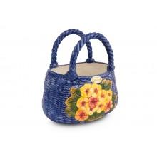 Bolsa Oval com Primulas