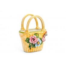Bolsa Pequena com Flores