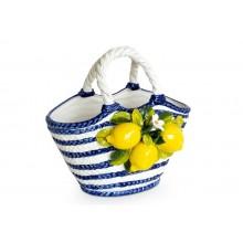 Bolsa Oval Capri Com Limões