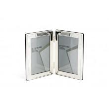 Silver Plate Duplo Moldura Grossa 9x13