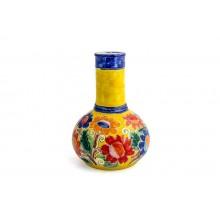 Vaso Genie com Flores Amarelo