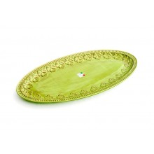 Prato Oval 64cm. Verde