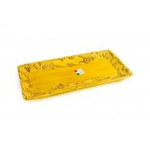 Bandeja de Cerâmica Amarela