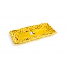 Bandejinha de Cerâmica Amarela