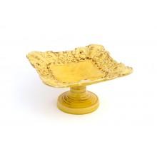 Fruteira Quadrada Amarela